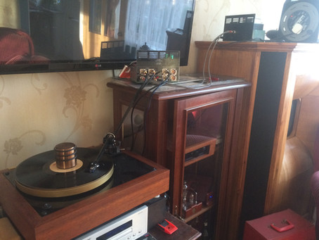 The Reference MM Phono Preamplifier first listening ever!!
