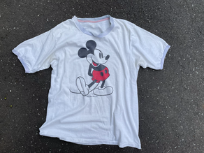 Mickey Mouse teeと私