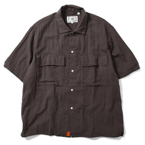 Rolling Double Gauge Shirts Black