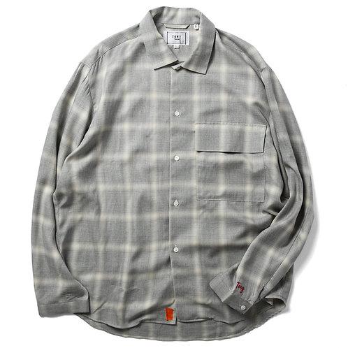 Balzary big pocket shirts Gray Check