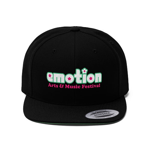 Emotion Flat Bill Hat