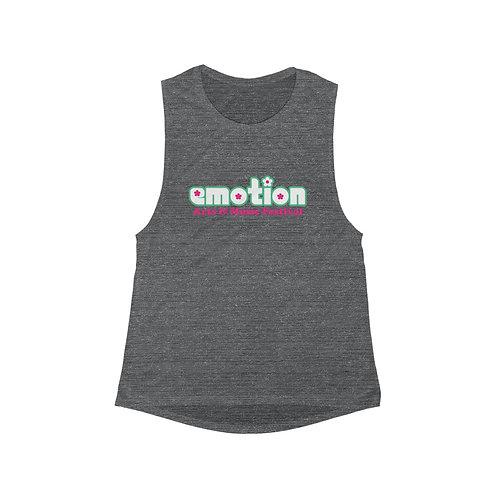 Emotion Women's Flowy Scoop Muscle Tank