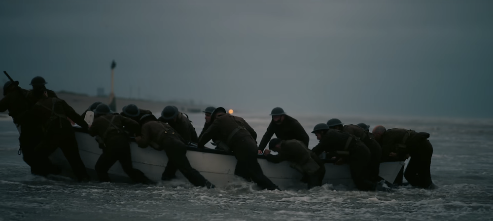 A particularly beautiful shot in Dunkirk, Warner Brothers, 2017