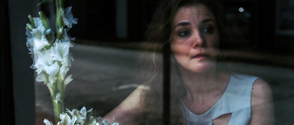 "Hannah Bryan portrays ""The Woman"""