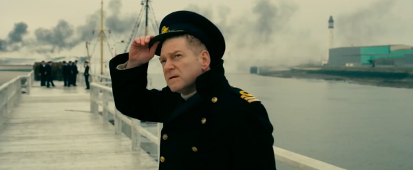 Kenneth Branagh, a staid, reassuring presence in Dunkirk, Warner Bros