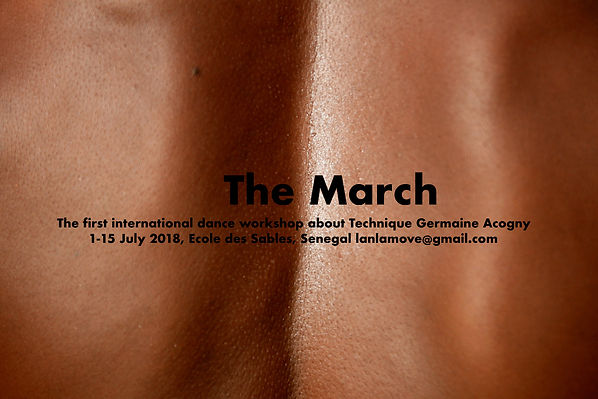 The March Ecole des Sables