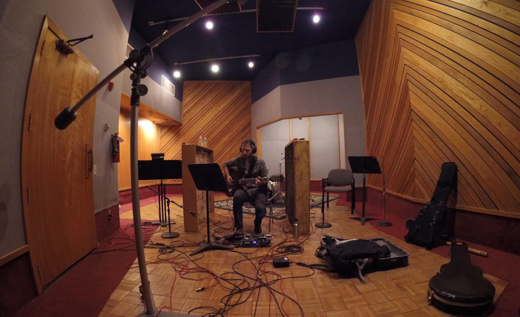 Recording at Revival Studio, LA