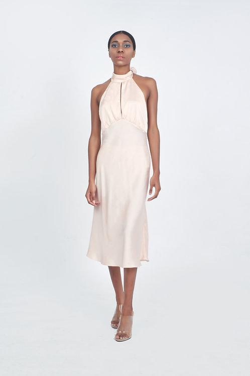 MARIA SILK DRESS