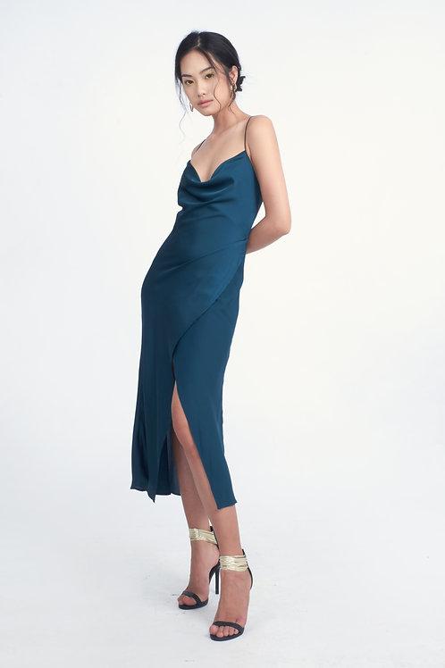 APRIL SILK DRESS