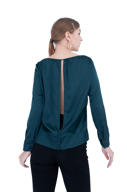 CARA SILK BLOUSE