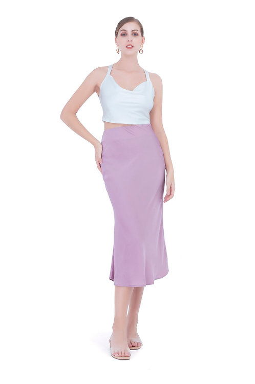 JUNE SILK SKIRT