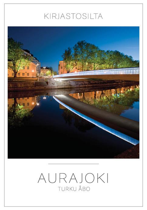 Aurajoki-kortit ja julisteet