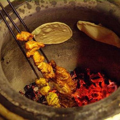Fresh Kababs and Nan_#glutenfreenan #veg