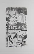 Josephine Birch,NYC1 14x8cm Monoprint.jp