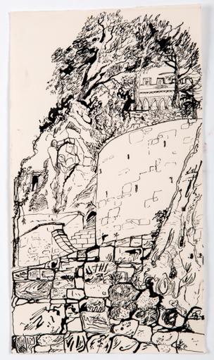 Walls, Pignano, Tuscany