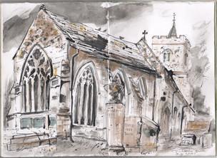 Grantchester Church, Cambridge