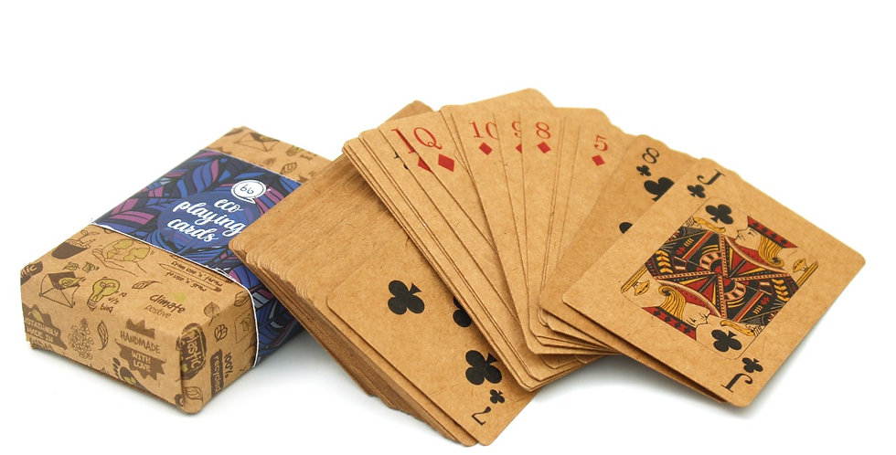 Eco playing cards | Pack of 2