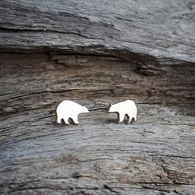 Tiny Bear Studs