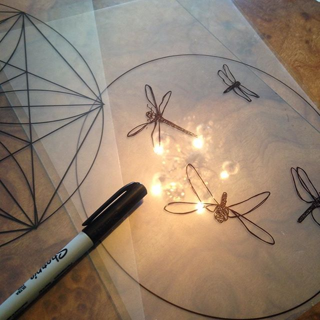 #drawing #dragonflies for my next #screenprint