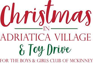 Christmas In Adriatica Logo Toy Drive Ou