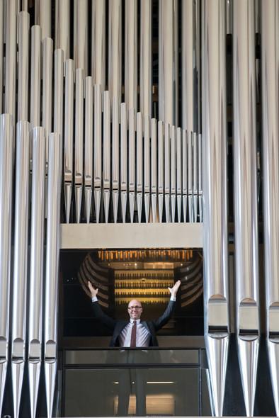 Markus Eichenlaub, Organist im Dom zu Speyer