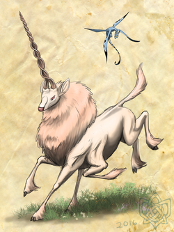 unicorn and clingini
