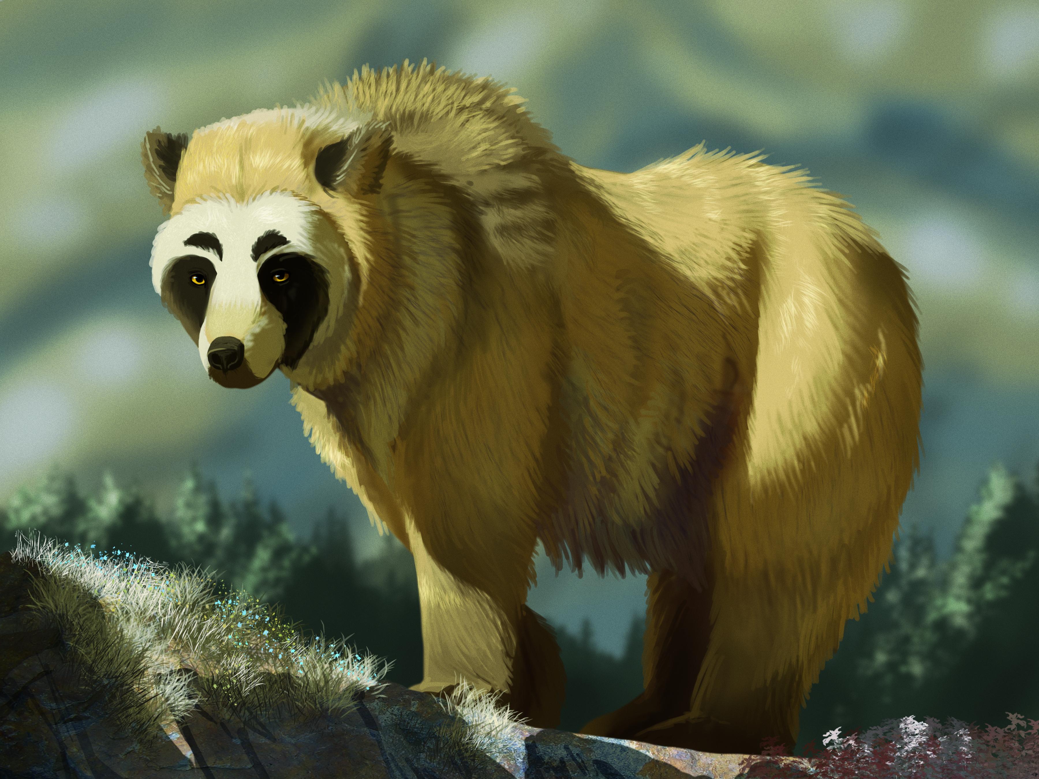 Gilded Bear