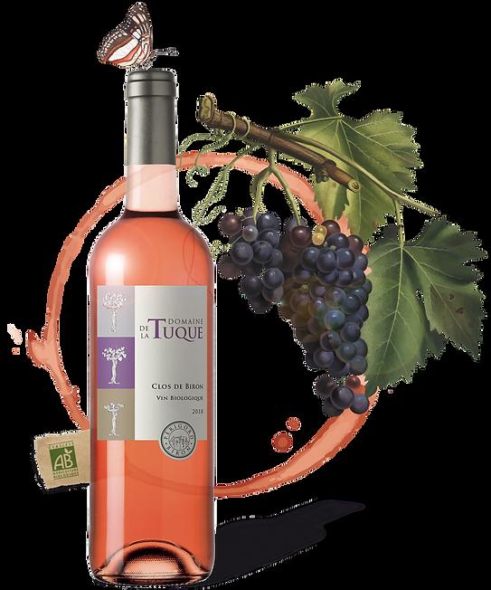 CLOS DE BIRON - Vin Bio du Domaine de La Tuque