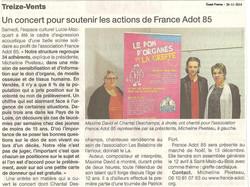 Ouest France - Treize Vents 26-11-2014