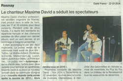Ouest France 22-10-2014
