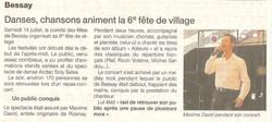 Article Ouest France Juillet 2012