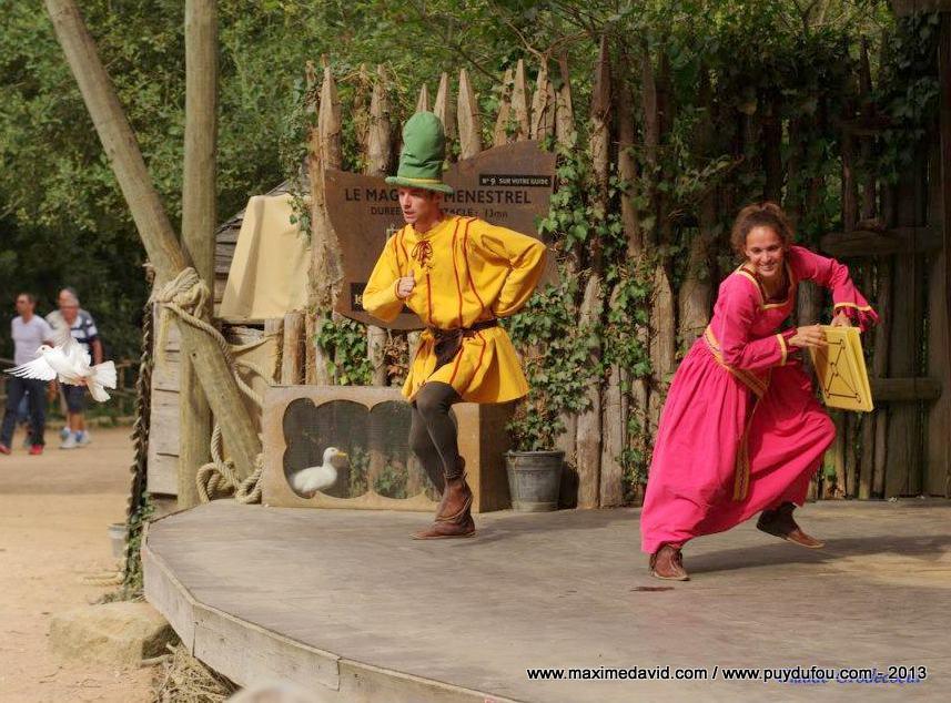 Puy du Fou - Le magicien ménestrel