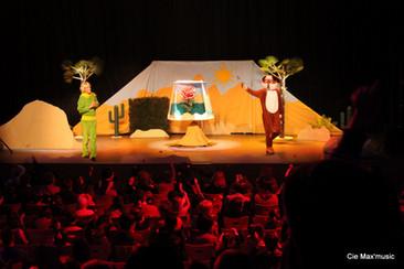 Spectacle enfants Petit Prince au Sahara
