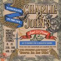 Charlie & John's Pro Light Bronze Acoustic Guitar Strings