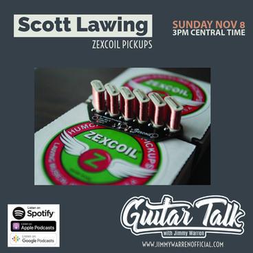 Scott Lawing - Zexcoil Pickups