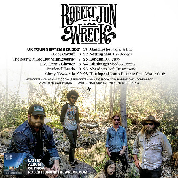 Robert Jon & The Wreck_Sept 2021 Tour Po