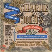 Charlie &John's Medium Light Bronze Acoustic Guitar Strings