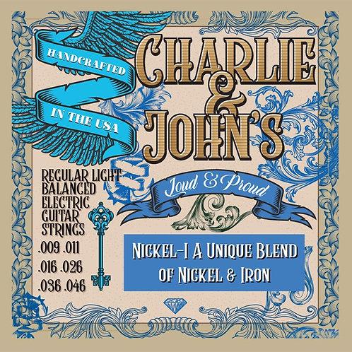 Charlie & John's Regular Light Balanced Electric Guitar Strings