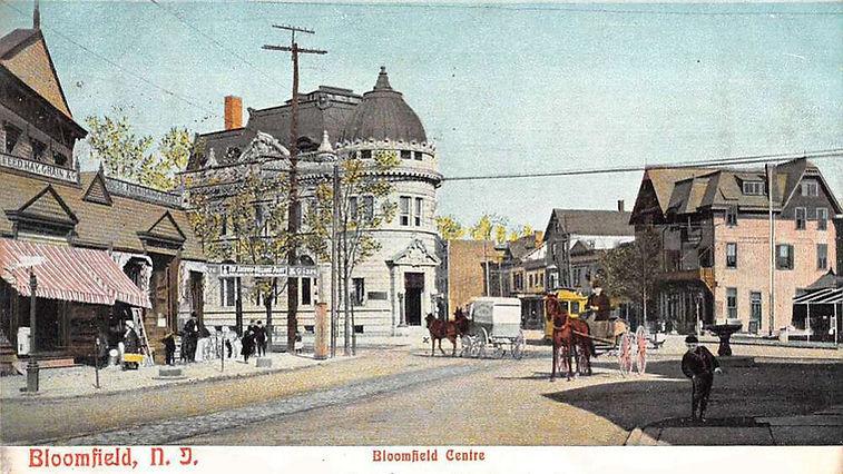 Bloomfield New Jersey NJ history