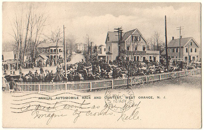 West Orange NJ history 1905 race
