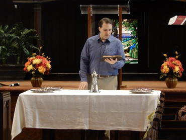 Communion Service - First Sunday of the month
