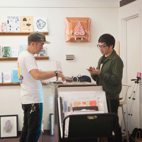 Putting the Pieces Together with Screen Printer: Brent Ozaeta