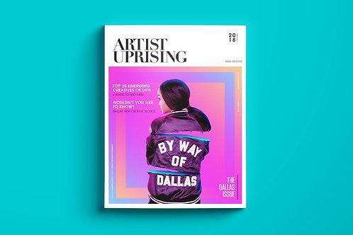 """Top 25 Emerging Talent of DFW"" (2018/2019) Print"