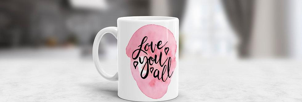 Tazas en Ceramica Love You All