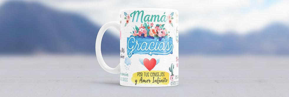"""Tazas Día de las Madres """"Gracias Mamá"""""""