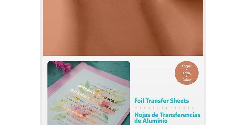Papel Transferencia (Foil) Cobre