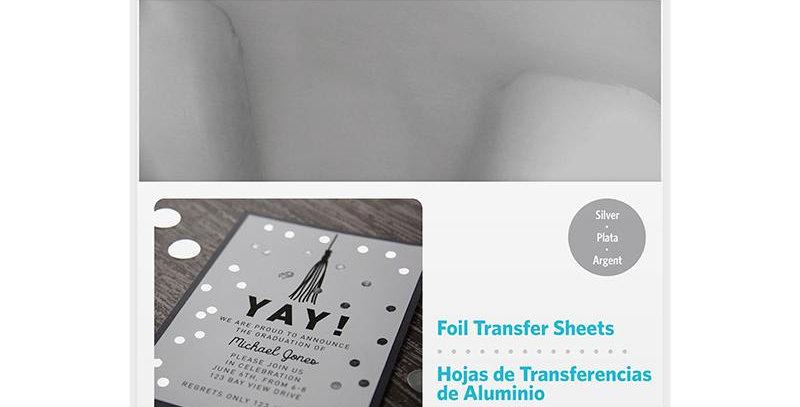 Papel Transferencia (Foil) Silver