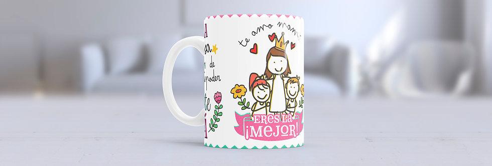 """Tazas Día de las Madres """"Tengo la Suerte"""""""