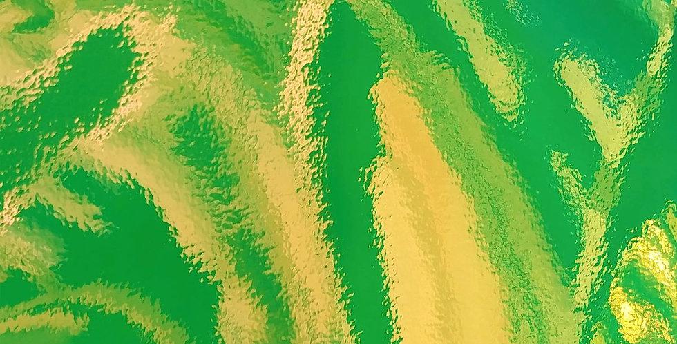 "OPALS Holográfico Verde Claro 12""x12"""