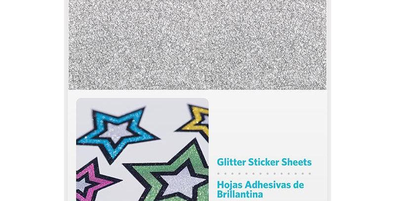 Hojas Adhesivas Glitter